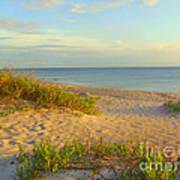 Longboat Key Beach View Art Print