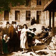Pitie-salpetriere Hospital, 1795 Art Print by Photo Researchers