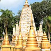 Stupa  Art Print by Panyanon Hankhampa