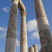 The Ruins Of The Ancient Citadel, Or Art Print