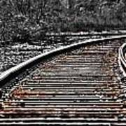 0003 Train Tracks Art Print