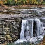 0017 Letchworth State Park Series  Art Print