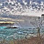 0018 View Of Horseshoe Falls From Terrapin Point Series Art Print