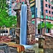 002 Fountain Plaza Art Print