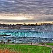 002 View Of Horseshoe Falls From Terrapin Point Series Art Print