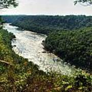 003 Niagara Gorge Trail Series  Art Print