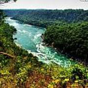 004 Niagara Gorge Trail Series  Art Print