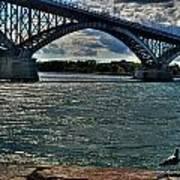 005 Peace Bridge Series II Beautiful Skies Art Print