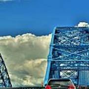006 Grand Island Bridge Series Art Print
