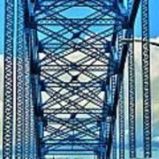 007 Grand Island Bridge Series  Art Print