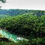007 Niagara Gorge Trail Series  Art Print