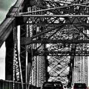 008 Grand Island Bridge Series Art Print