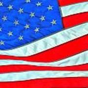 01 American Flag Art Print