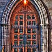 01 Church Doors Art Print