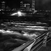 012 Niagara Falls Usa Rapids Series Art Print