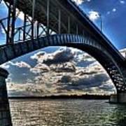 012  Peace Bridge Series II Beautiful Skies Art Print
