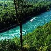 013 Niagara Gorge Trail Series  Art Print