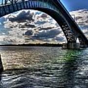 013 Peace Bridge Series II Beautiful Skies Art Print