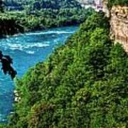 014 Niagara Gorge Trail Series  Art Print