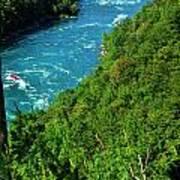 017 Niagara Gorge Trail Series  Art Print