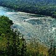 018 Niagara Gorge Trail Series  Art Print
