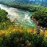 019 Niagara Gorge Trail Series  Art Print