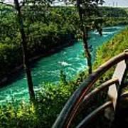 020 Niagara Gorge Trail Series  Art Print