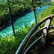 021 Niagara Gorge Trail Series  Art Print