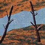 0361 Abstract Landscape Art Print