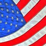 05 American Flag Art Print