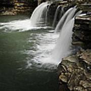 0804-0013 Falling Water Falls 4 Art Print by Randy Forrester