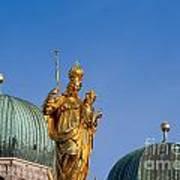Towers Of Frauenkirche Art Print