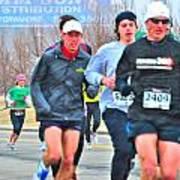 07 Shamrock Run Series Art Print