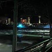 09 Niagara Falls Usa Rapids Series Art Print