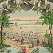 1883 Print Commemorating Art Print by Everett