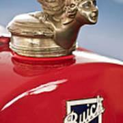 1928 Buick Custom Speedster Hood Ornament Art Print