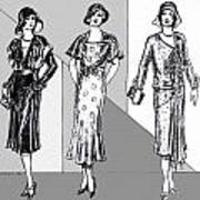 1930s Dresses Art Print