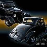 1934 Ford Coupe Art Print