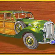 1947 Bentley Shooting Brake Art Print