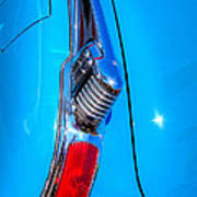 1950 Oldsmobile 88 Deluxe Holiday Coupe Art Print