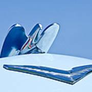1954 Chrysler New Yorker Deluxe Hood Ornament Art Print