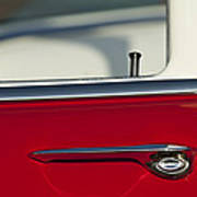 1955 Chevrolet 210 Door Handle Art Print