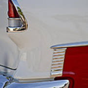1955 Chevrolet 210 Taillight Art Print