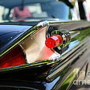 1958 Mercury Park Lane Tail Light Art Print