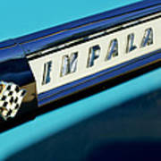 1959 Chevrolet Impala Emblem Art Print
