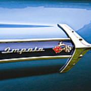 1960 Chevrolet Impala Emblem Art Print