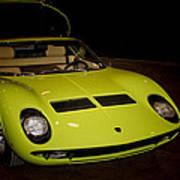 1968 Lamborghini Miura S Art Print