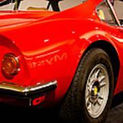 1973 Ferrari Dino 246 Gt Art Print