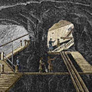 19th-century Mining Art Print by Sheila Terry