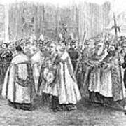1st Vatican Council, 1869 Art Print